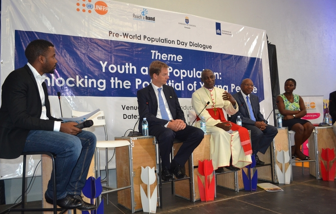 Unlocking youth potential; young people lead the way in dialogue on reproductive  health